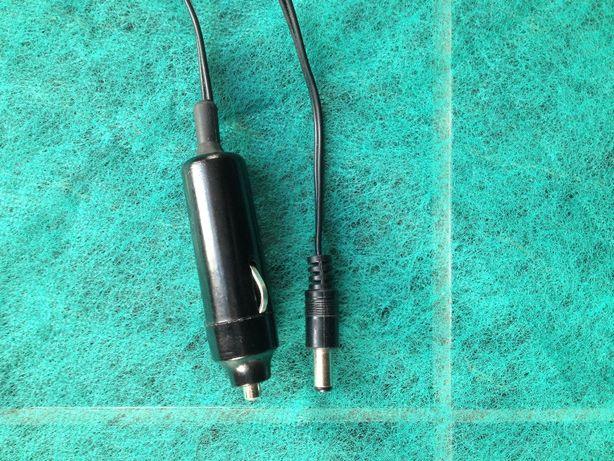 Zasilacz Ładowarka samochodowa 12V , wtyk fi 5,5 mm