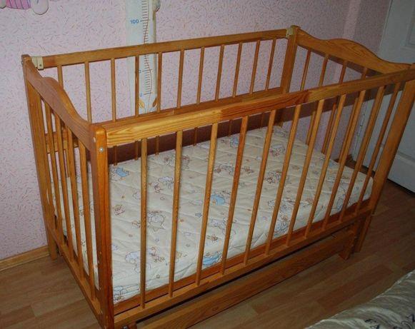 Детская кроватка-колыбель, колиска, с ортопедическим матрасом Come-for