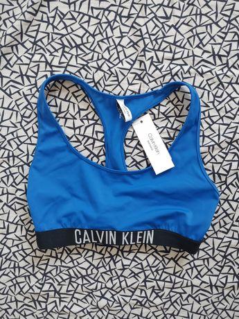 NOWY z metką Calvin Klein rozmiar 34/XS góra o stroju stanik kąpielowy