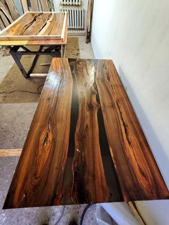 Эпоксидная смола, дизайнерские столы
