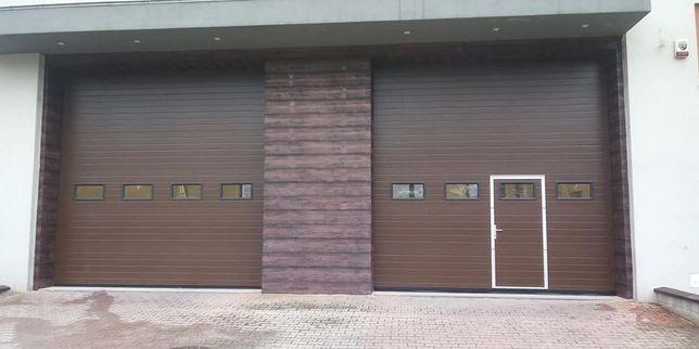 Bramy segmentowe garażowa automatyka simple NICE FAAC WINGO HOPP SPIN