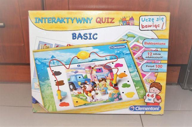 Kucyk My Little Pony puzzle drewniane Clementoni Interaktywny Quiz
