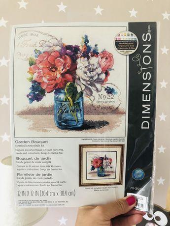 Набор доя вышивки Dimensions Garden Bouquet