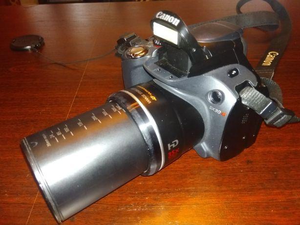 Canon SX 30 IS Power Shot aparat fotograficzny lustrzanka sprawny