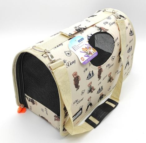 Torba transportowa podróżna transporter dla psa, kota, królika L kolor