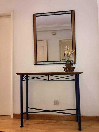 Móvel de Entrada/Hall + Espelho