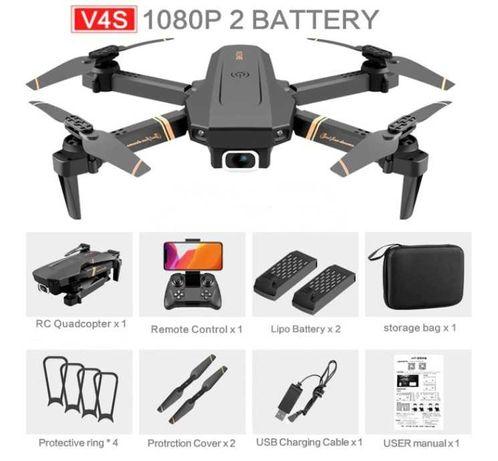 Dron 4D-V4 WIFI kamera 1080p, 2 baterie, aż do 40min lotu