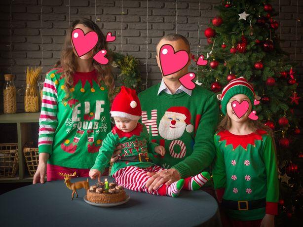 Family look, новорічна новогодняя кофта прокат, оренда