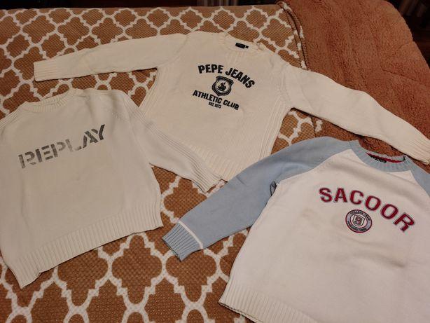 Lote de camisolas Sacoor, Pepe jeans, Replay