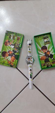 Детские  наручные часы Бен 10 в коробке