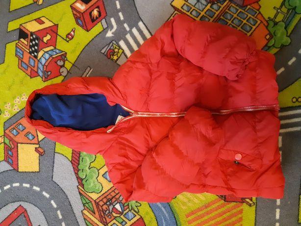 Kurteczka zimowa chłopięca 98cm