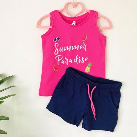 Літній космплект/костюм/набор IDEXE, 2-3 роки, майка/шорти