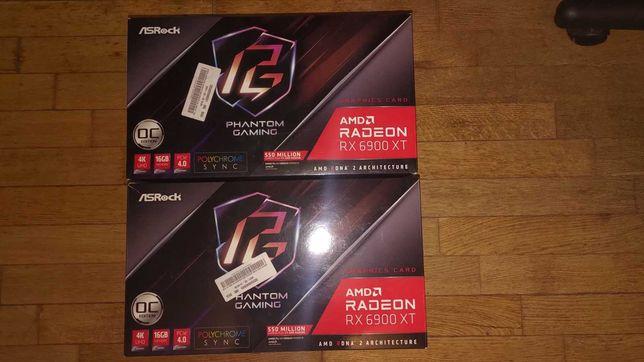 ASRock Radeon RX 6900 XT Phantom Gaming (2шт)