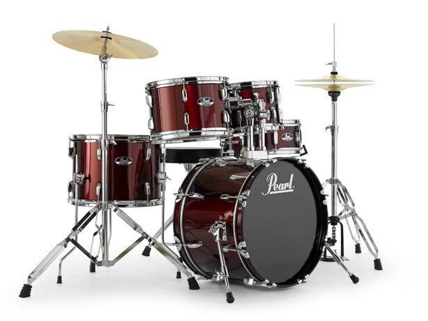 Nowa perkusja Pearl Roadshow centrala18 talerze Pszczyna