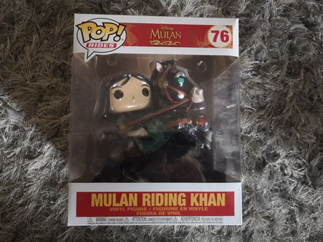 Funko pop disney Mulan riding Khan 76