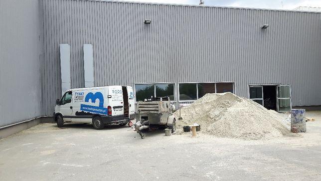 posadzki wylewki anhydrytowe, cementowe, styrobeton