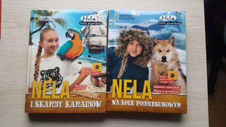 Nela i skarby Karaibów, Nela na kole podbiegónowym