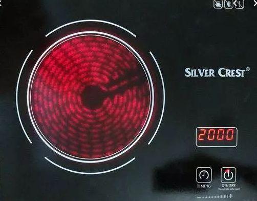 Керамическая инфракрасная плита Silver настольная кухоная электроплита