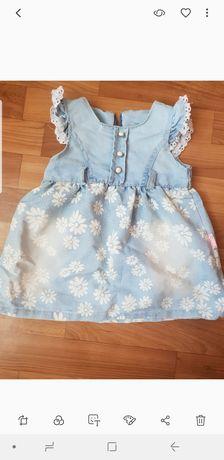 Платье джинсовое на девочку