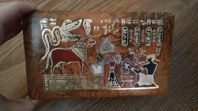 Egipska szkatułka na biżuterię