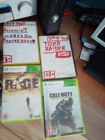 Xbox 360 + dysk 320 GB + 4 gry OKAZJA!!!
