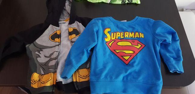 Bluzy Batman i Superman 116/122