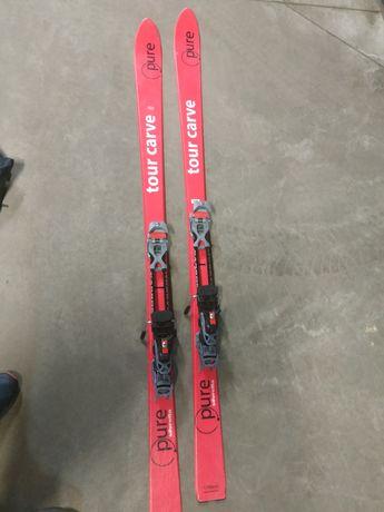 Narty skitur skitour skiturowe komplet 170 foki