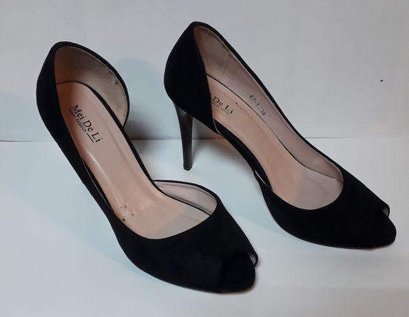 Замшевые туфли Mei De Li