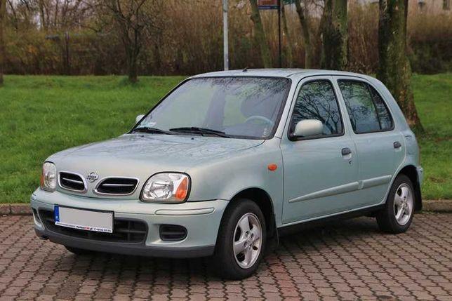 Nissan Micra K11 Benzyna, Klimatyzacja, Zadbana