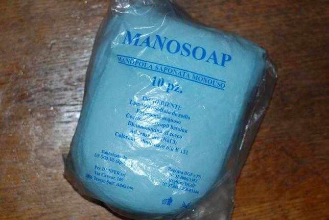 Одноразові рукавички-губки для миття тіла
