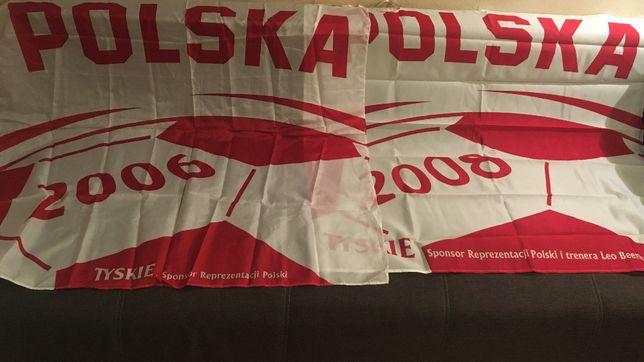 Flagi Tyskie 2 szt 2006r 2008r
