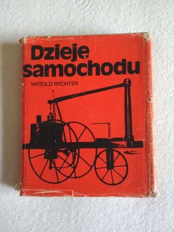 Książka Dzieje samochodu