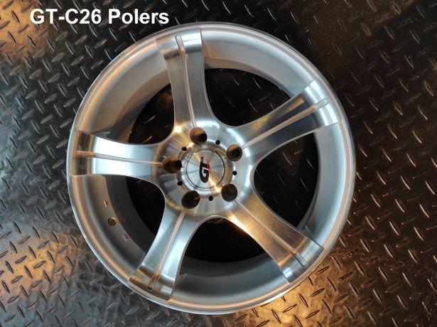 """Felgi aluminiowe GT racing 15"""", różne modele-nowe, wyprzedaż magazynow"""