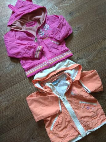 Куртка-ветровка утепление флис