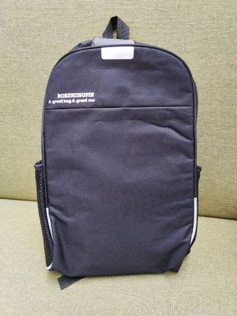 Надежный городской рюкзак Bokun 10л Black с USB Мужской Женский дл ноу