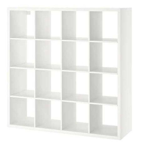 Regał Kallax IKEA biały 4 x 4