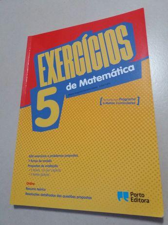 Exercícios de Matemática 5° Ano - Porto Editora (novo)