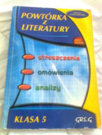 Powta z literatury klasa 5