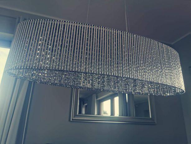 Lampa z kryształkami glamour