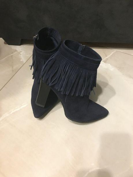 Sprzedam buty damskie firmy reservd rozm. 36.Skórzane,skóra zamszowa