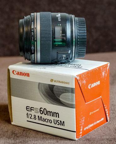 Obiektyw Canon EF-S 60mm f2,8 Macro