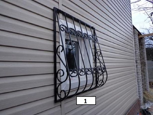 Решетки на окна в Харькове от 550 грн./м2