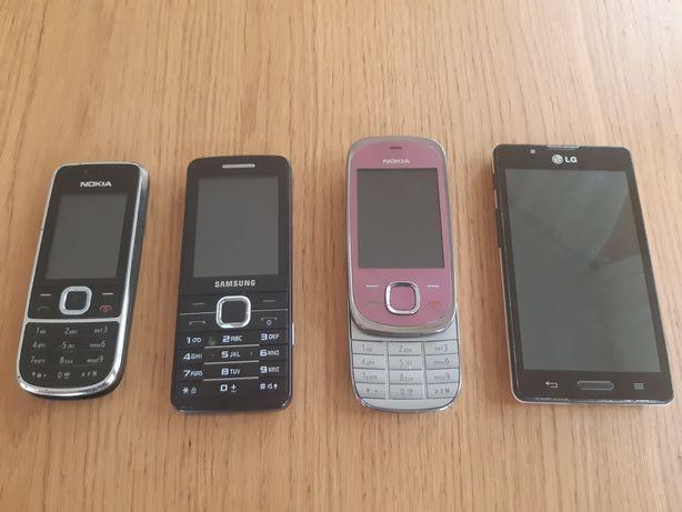 Telefony komórkowe zestaw
