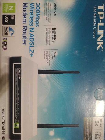 Модем роутер для подключения по телефонной линии TP-LINK TD-W8960N!