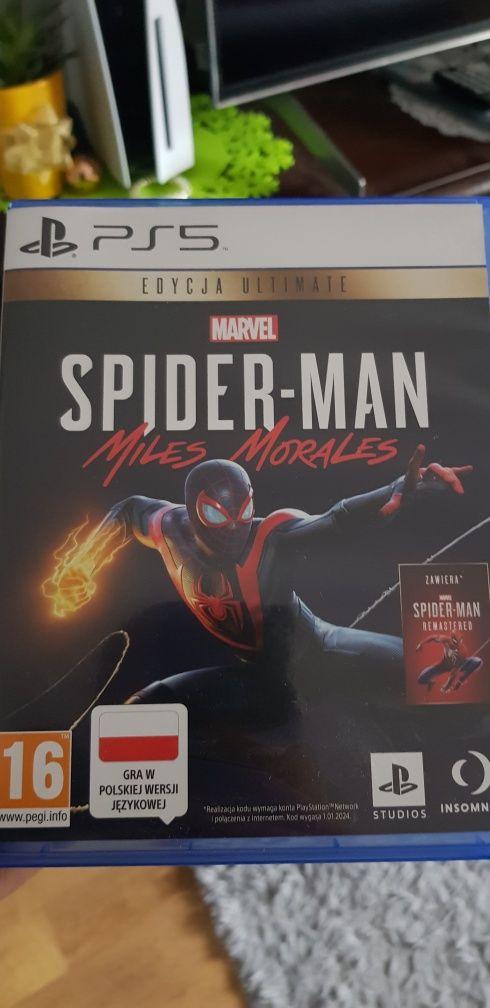 Spider Man Miles Morales PS5 PL