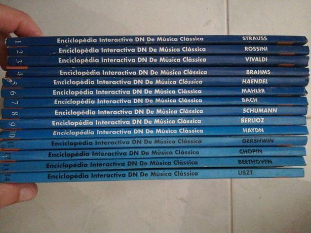 Enciclopédia Interactiva Música Clássica - Chopin, Strauss, Bach,..