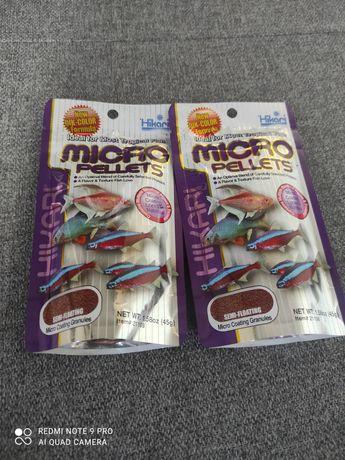 Hikari micro pellets pokarm dla ryb do akwarium dla neonów 45g