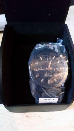 Czarny zegarek Armani Exchange (NOWY)