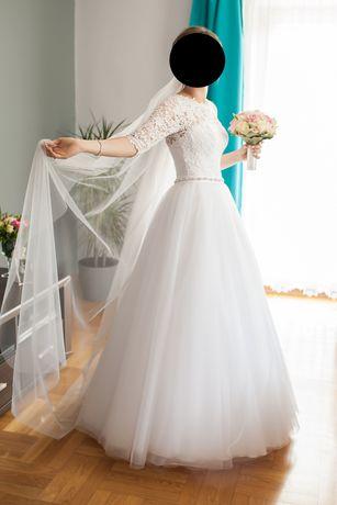 Suknia ślubna princessa księżniczka 34