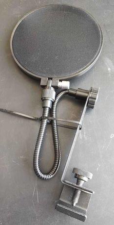 Filtro de microfone estúdio Pop filter Novo Faço envio